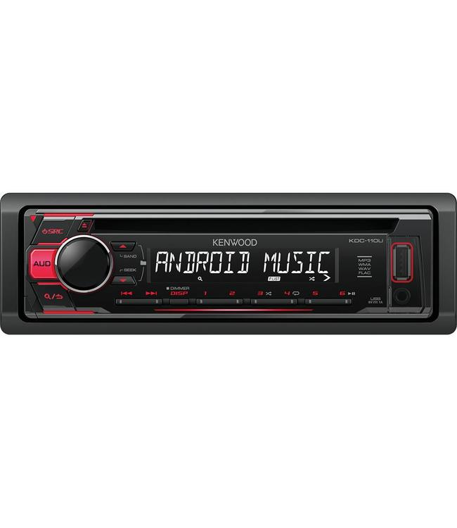 Kenwood KDC-110UR Autoradio met CD speler