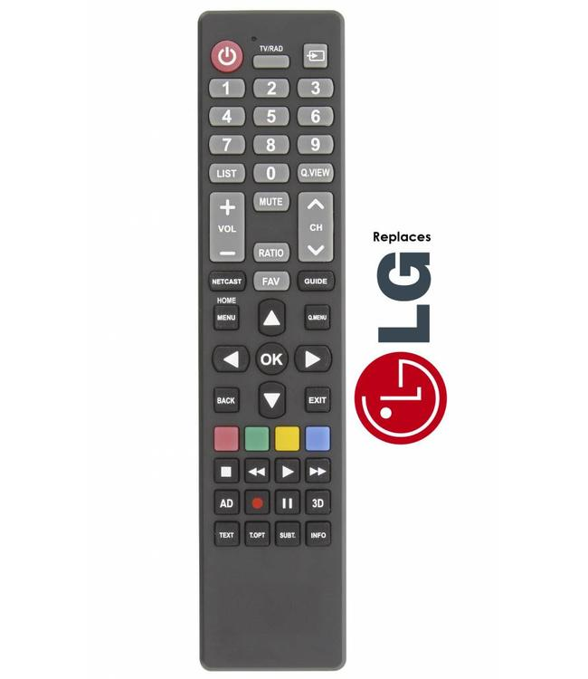 LG Afstandsbediening / remote controle voor alle LG tv's