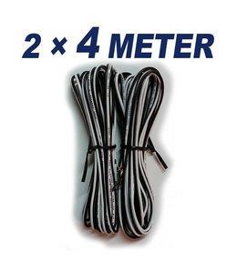 KABEL 4 Meter speaker kabel (2x)