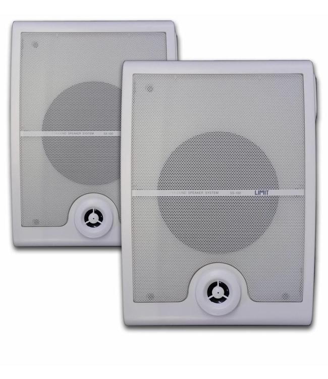 Limit SS100 professionele speakers met ophang beugels ook voor horeca, wachtruimte, winkel etc.