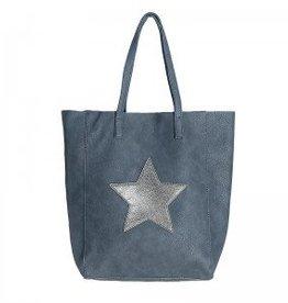 Tas Citybag Star Grijs