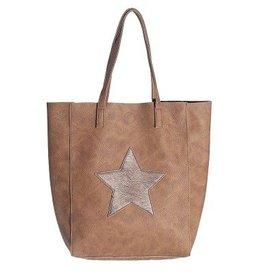 Tas Citybag Star Bruin