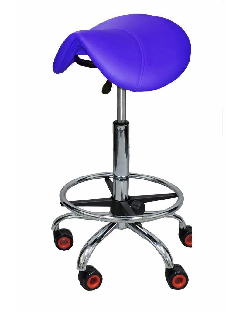 Kapperskruk Blauw Standaard met Voetring