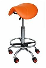 Kapperskruk Oranje Standaard met Voetring