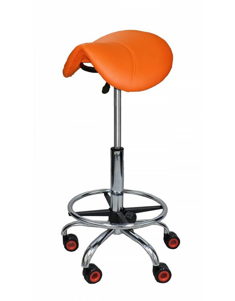 Kapperskruk Oranje Hoog met Voetring