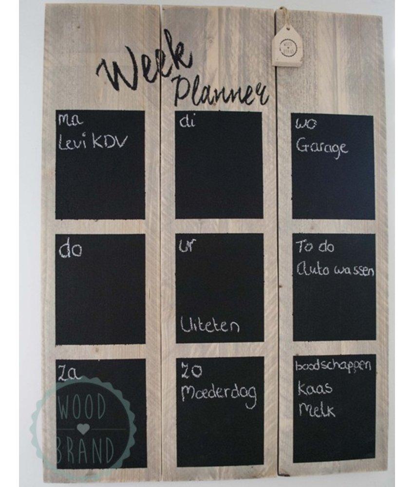 Weekplanner 80x60