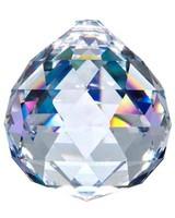 Asfour Kristall Kugel geschliffen mit Loch 70 mm Crystal - XXL Kristall