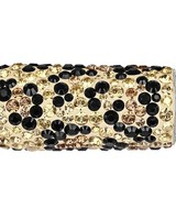 GL Collection Be Charmed Rondelle Leopard