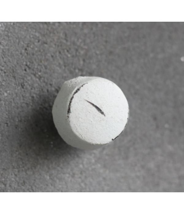 Kastknop Wit Metaal S