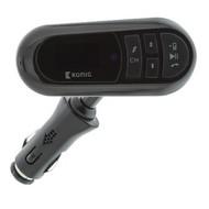 König FM Audiozender Bluetooth 3.5 mm Zwart