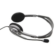 Logitech Headset On-Ear 2x 3.5 mm Bedraad Ingebouwde Microfoon Zwart