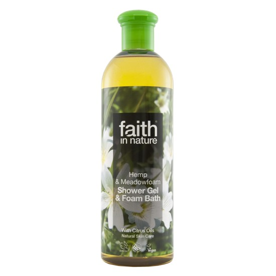 Faith in Nature Hemp & Meadowfoam Bath & Shower Gel