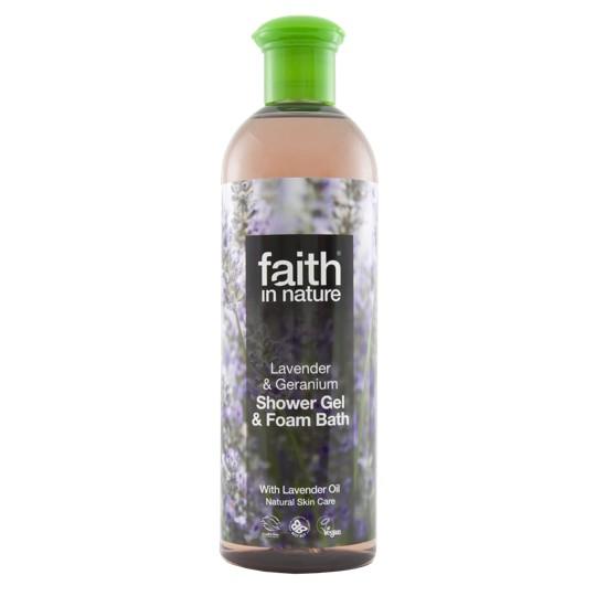 Faith in Nature Lavender & Geranium Bath & Shower Gel