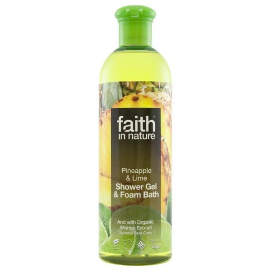 Faith in Nature Pineapple & Lime Bath & Shower Gel