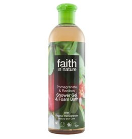Faith in Nature Pomegranate & Rooibos Bath & Shower Gel