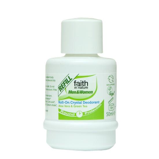 Faith in Nature Deodorant Refill Green Tea & Aloe Vera 50ml