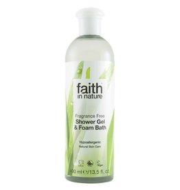 Faith in Nature Fragrance Free Bath & Shower Gel