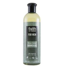 Faith in Nature Blue Cedar Shower Gel