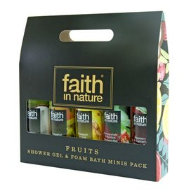 Faith in Nature Fruity Shower Gels (5x 100ml)