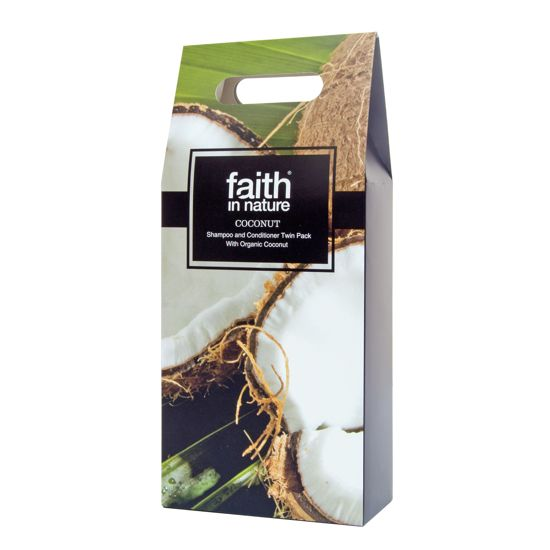 Faith in Nature Coconut Shampoo & Conditioner Gift Pack