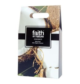 Faith in Nature Coconut Mini's Gift Pack