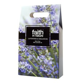 Faith in Nature Lavender & Geranium Mini's Gift Pack