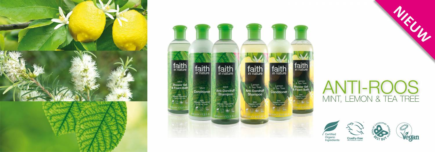 Faith in Nature biologische Anti-roos
