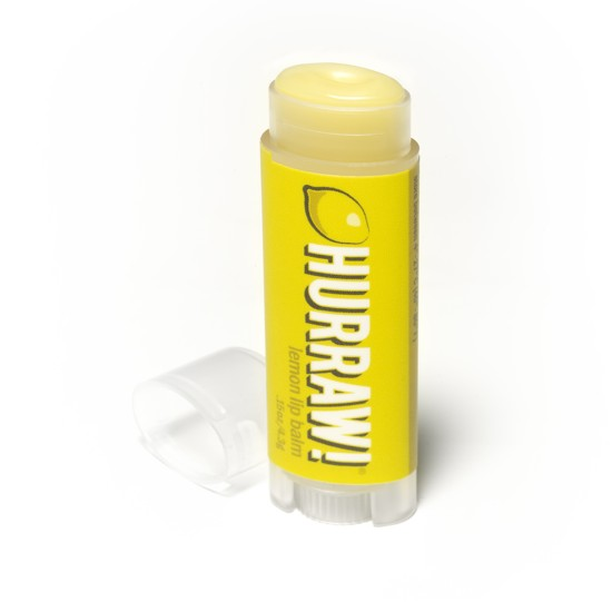 Hurraw! Lemon Lip Balm