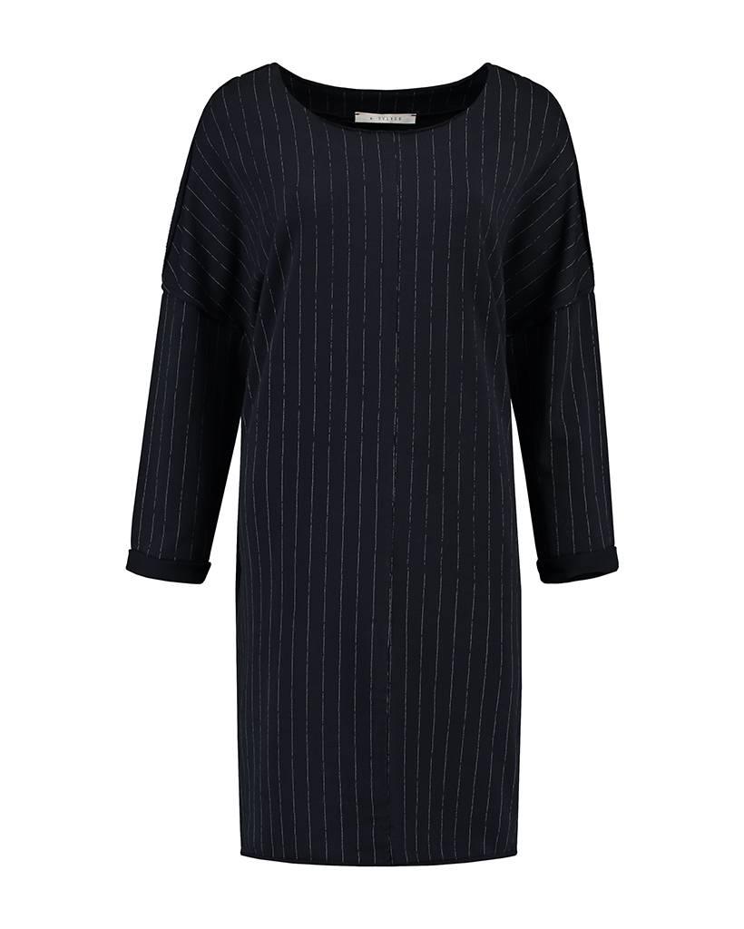 SYLVER Stripe Sweat Dress