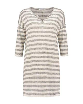 SYLVER Linen Stripe Shirt