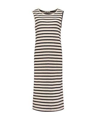 SYLVER Structure Stripe Dress