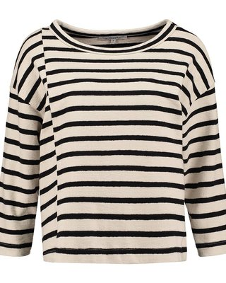 SYLVER Structure Stripe Shirt