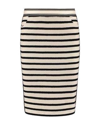 SYLVER Structure Stripe Skirt