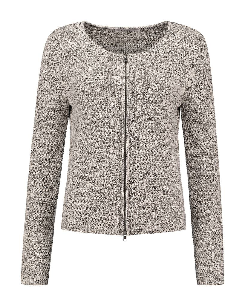 SYLVER Two Tone Knit Cardigan