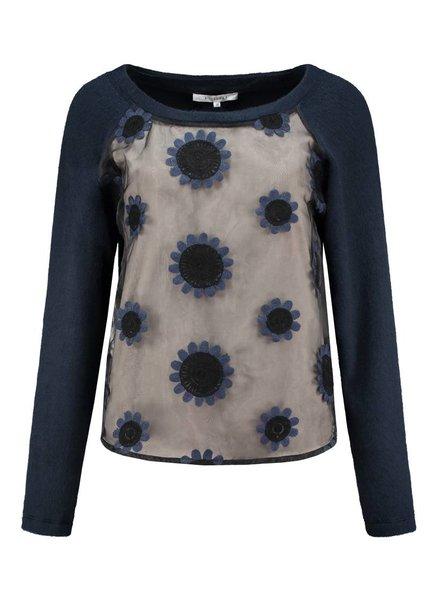 SYLVER Fur Jersey Shirt
