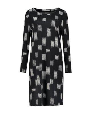 SYLVER Art Print Dress Long Sleeve