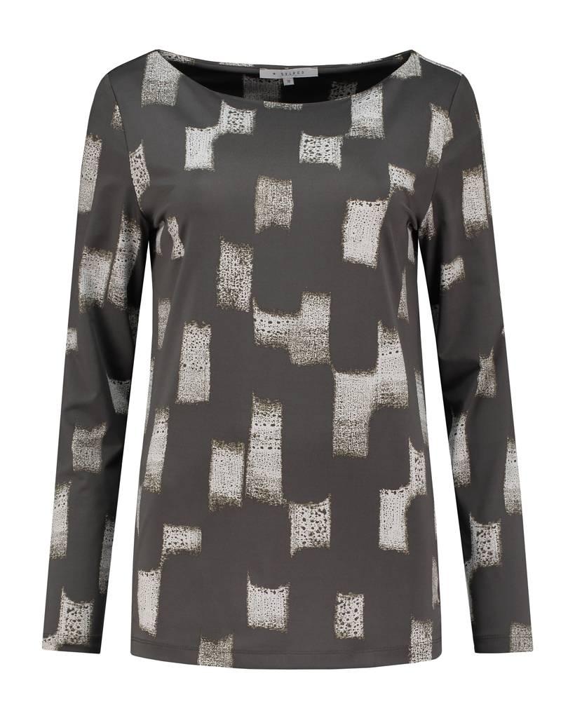 SYLVER Art Print Shirt