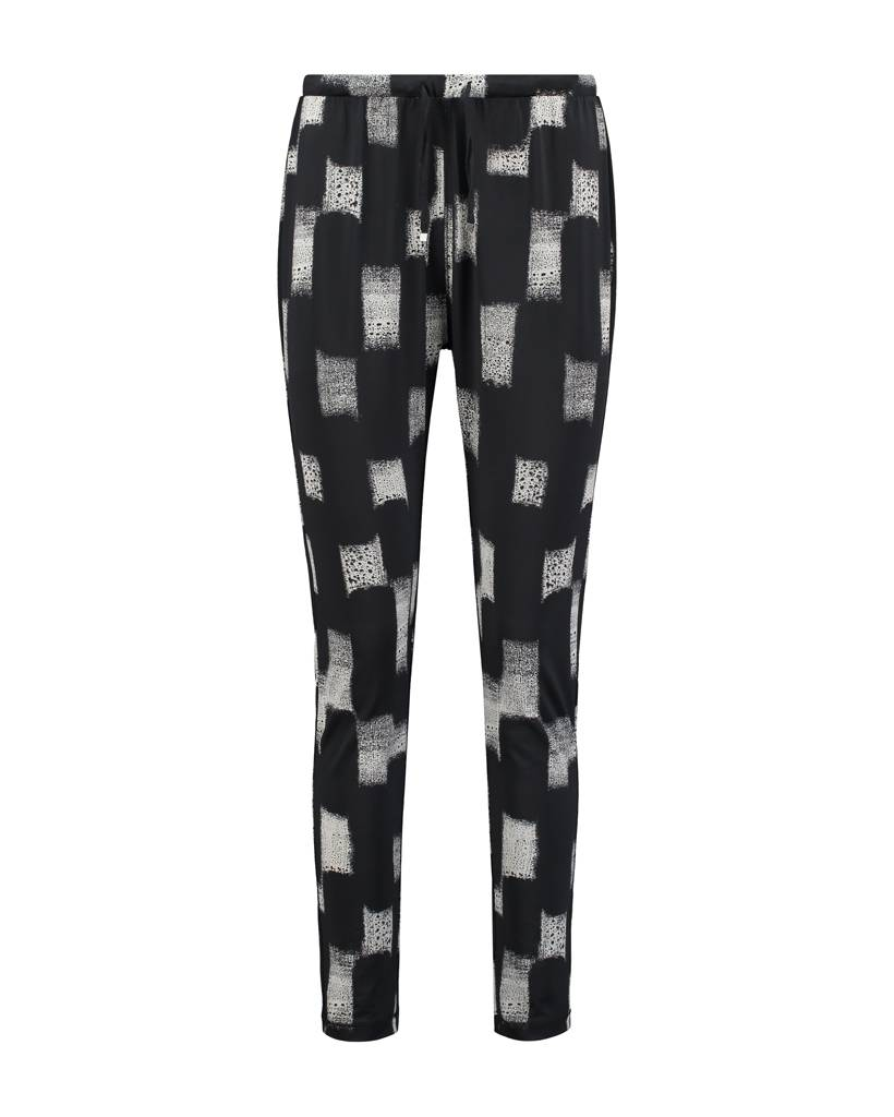 SYLVER Art Print Trousers