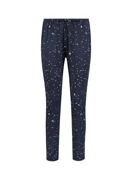 SYLVER Splatter Print Trousers