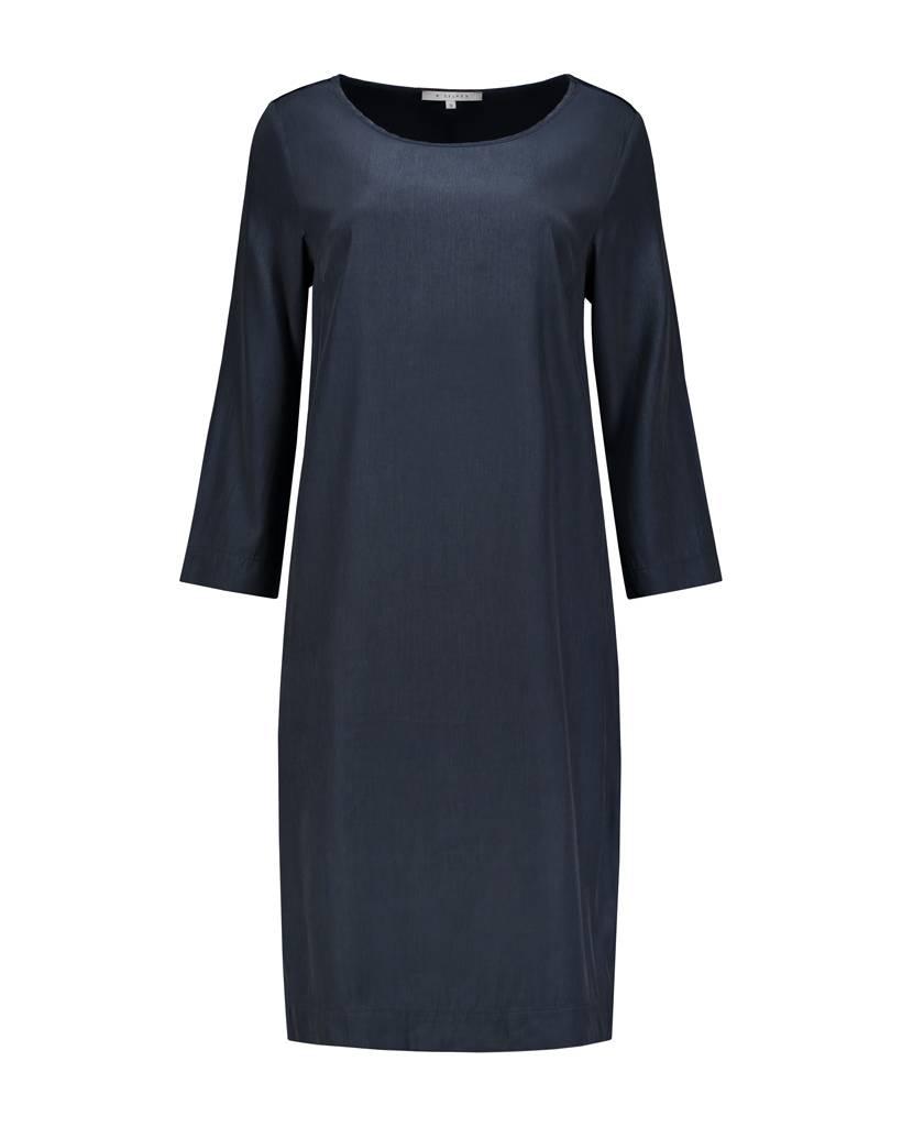 SYLVER Poly Silk Dress Long