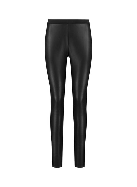SYLVER Fake Leather Legging