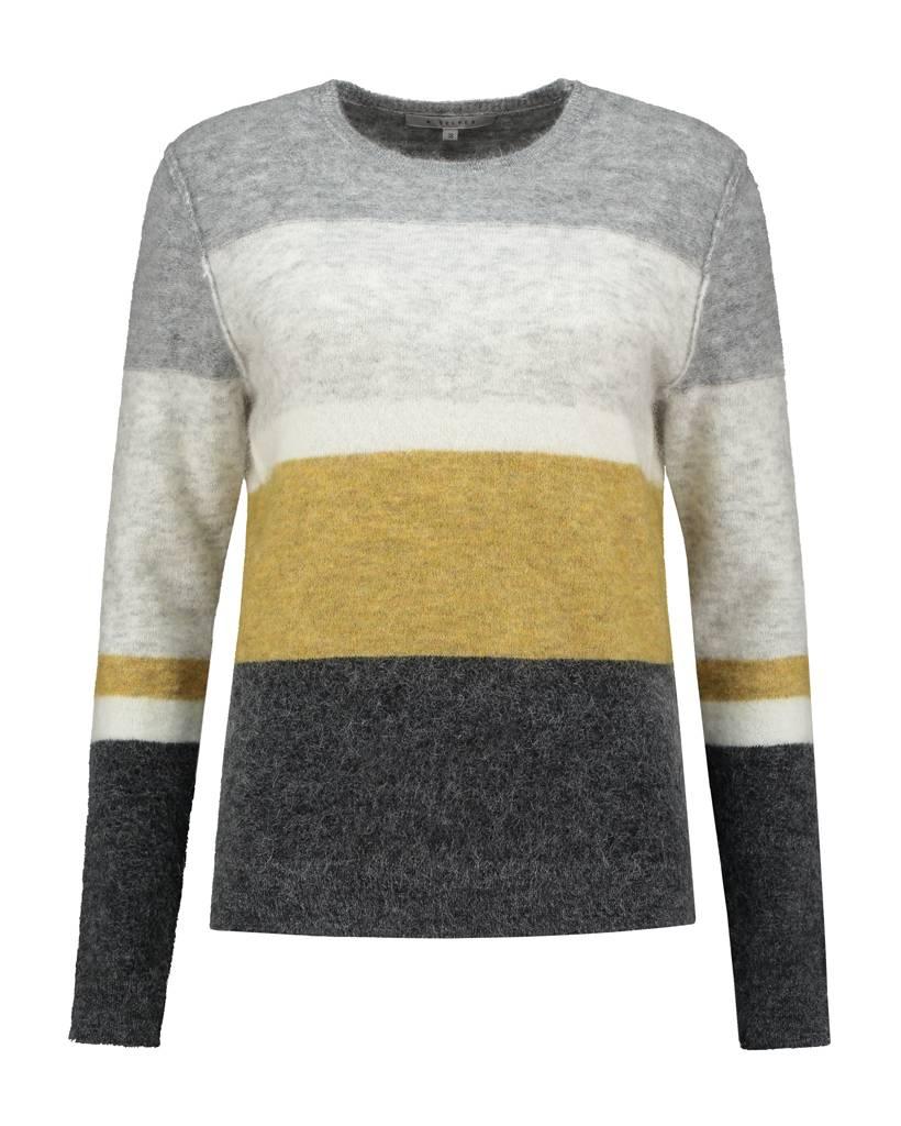 SYLVER Top Line Colour Stripe Shirt