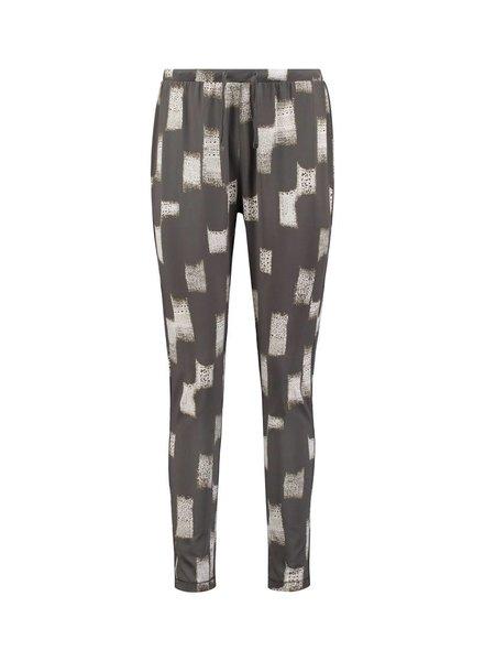 SYLVER Art Print Trousers