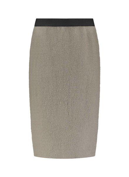 SYLVER Boiled Wool Skirt