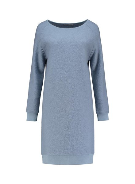 SYLVER Boiled Wool Dress
