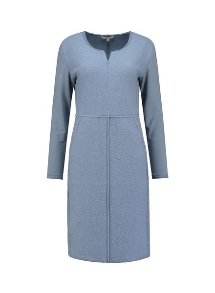 SYLVER Boiled Wool Combi Dress