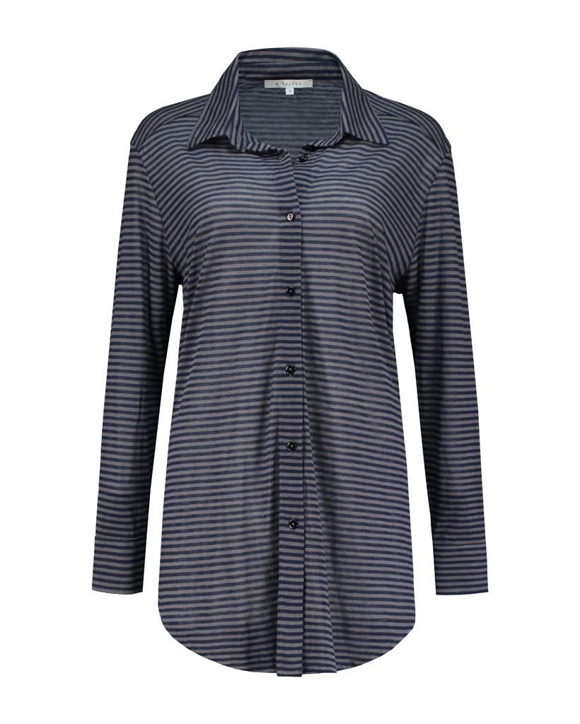 SYLVER Jersey Stripe Blouse
