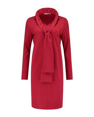SYLVER Silky Jersey Collar Dress