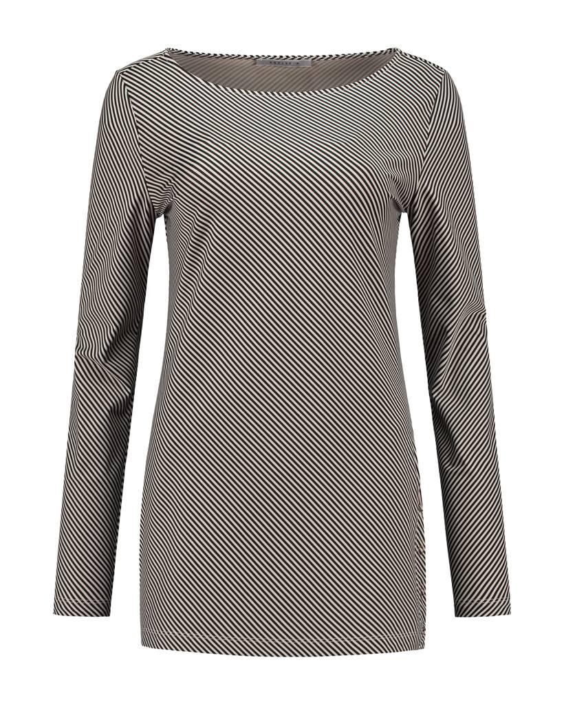 SYLVER Silky Stripe Shirt