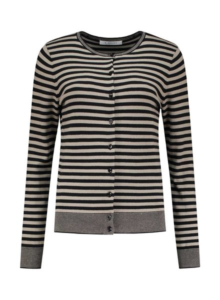 SYLVER Stripe Knit Cardigan